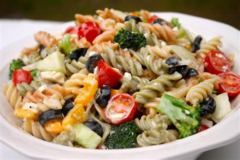 creamy pasta salad recipe the best creamy italian pasta salad i heart recipes