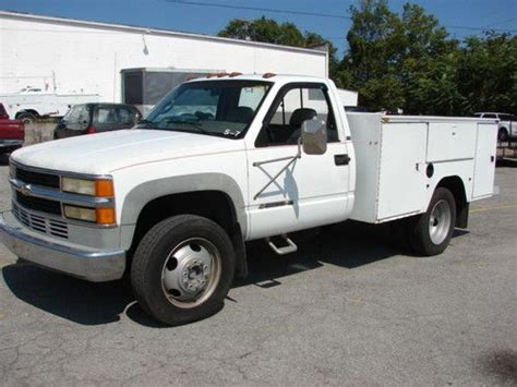 rust free pickup beds buy used rust free service utility bed truck 153k ready
