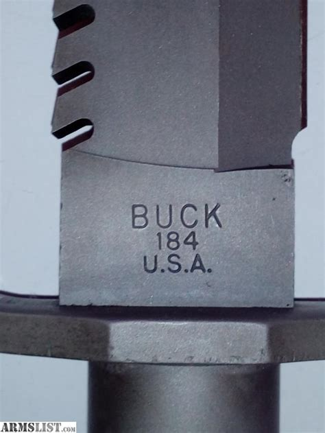 buck 184 for sale armslist for sale buckmaster 184