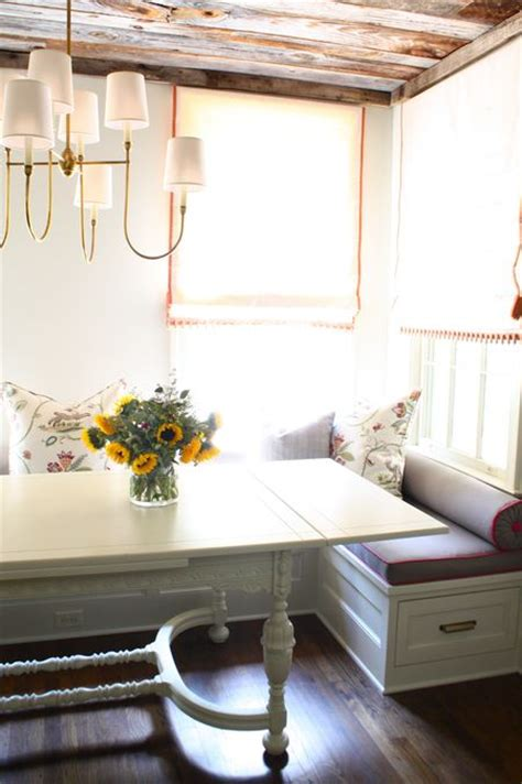 customize your kitchen with built in banquette seating
