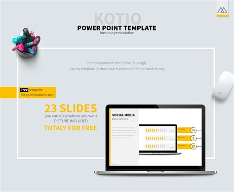 40 Free Cool Powerpoint Templates For Presentations Powerpoint Template For