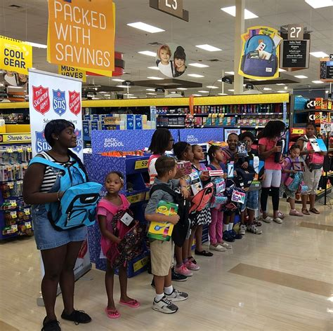 full swing prescott valley salvation army s backpack sos seeks donations of back to