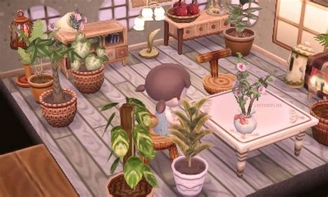 interior themes new leaf in progress dining room acnl house goals pinterest