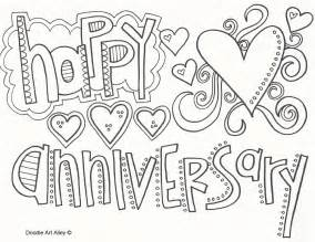 anniversary doodle anniversary coloring pages doodle alley