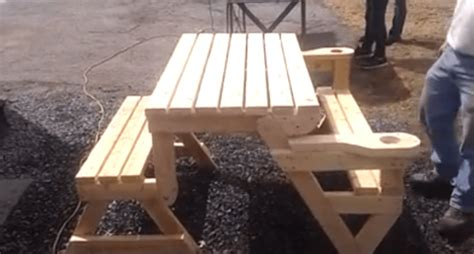 folding picnic table    great