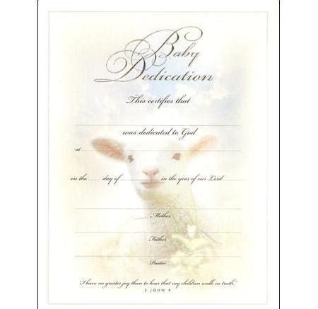 baby dedication certificate template certificate template free premium templates