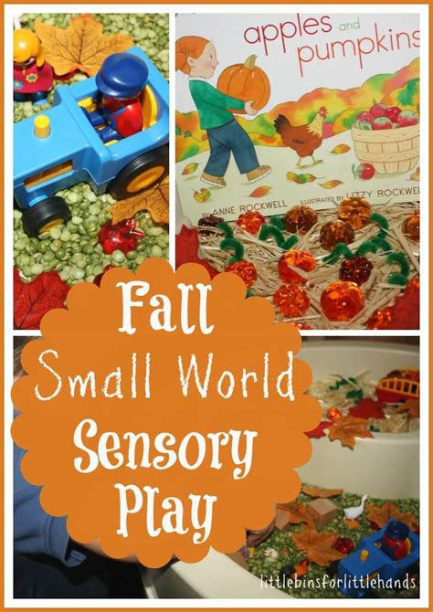 picture books with sensory details books bins sensory play series pumpkins and apples
