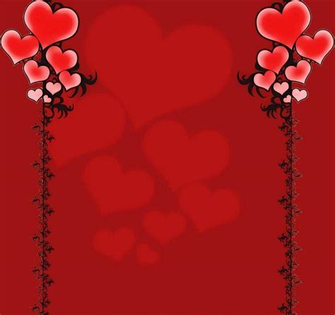 background design heart red love heart backgrounds wallpaper cave
