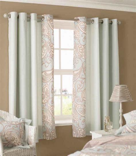 Small Door Window Curtains Modern Curtain Ideas For Small Windows Images
