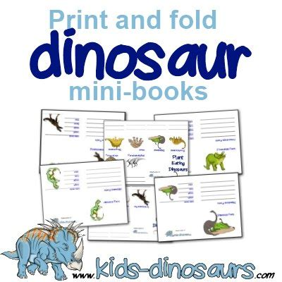 printable toddler books dinosaur printables for kids