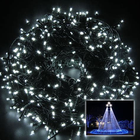 24v 100m 500led cool white mini christmas wedding xmas