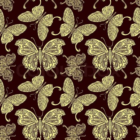 fashion vector background pattern abstract background with butterflies creative vector