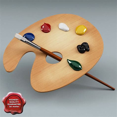 Painting Palette by 3d Artists Palette