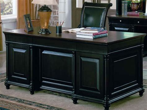 executive office desks for home office workspace hekman executive desk for