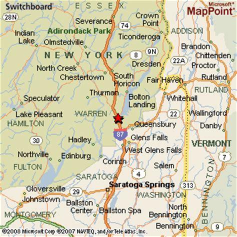 map of lake george ny lake george new york