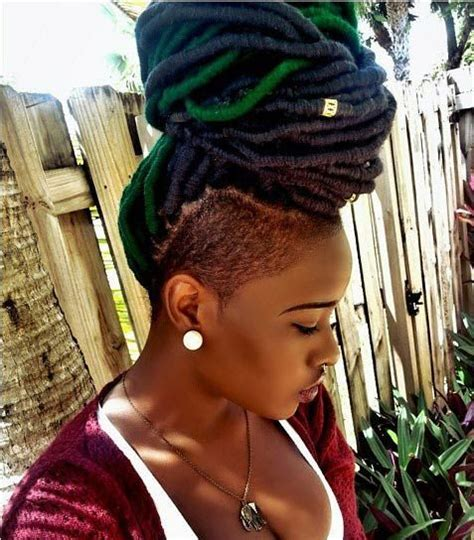 imitate half shaved look with braids 272 best images about i heart undercuts on pinterest