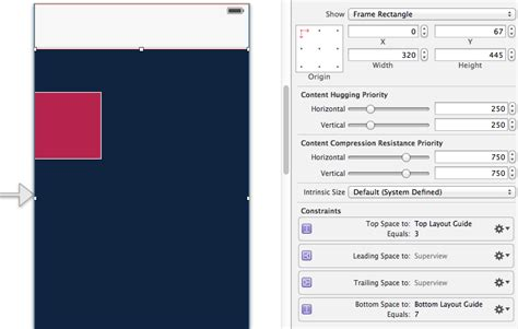 xcode layout navigation bar xcode ios 7 uinavigationbar is above content when using