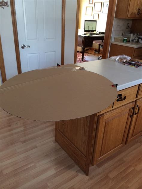 Granite Countertop Overhang Support by Need Help With Support Idea For Kitchen Island Overhang