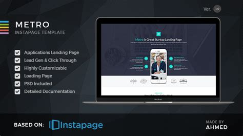 themeforest video landing page 16 website mockup templates free psd designs