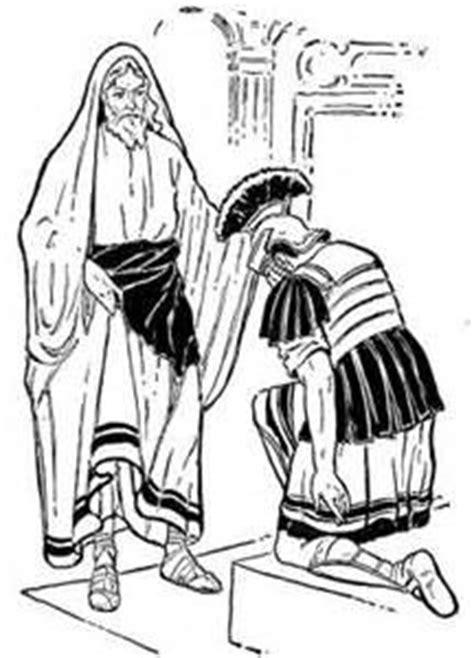 coloring page jesus heals centurion s servant 63 best jesus heals centurion s servant images on