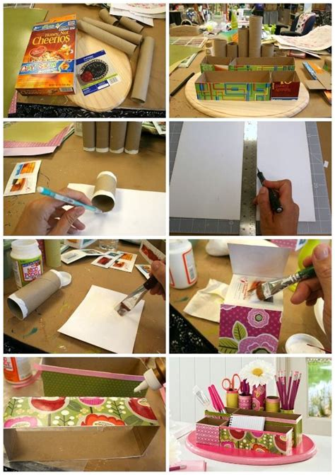 Toilet Desk Organizer Recycled Craft Diy Desk Organizer Toilets Un And Ideas For Mothers Day