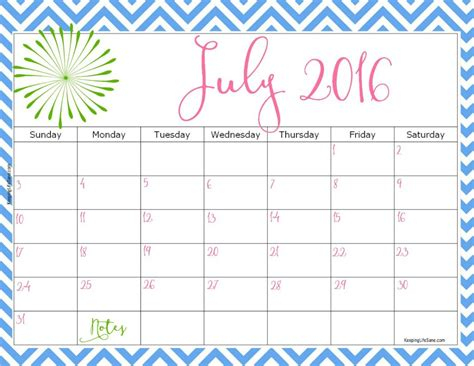 printable calendar 2016 july august september 2016 free printable calendar keeping life sane