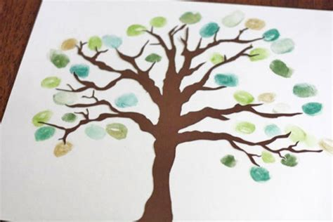 new year fingerprint tree thumbprint tree factory direct craft