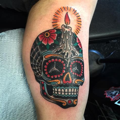 sugar skull tattoo 125 best sugar skull designs meaning 2018