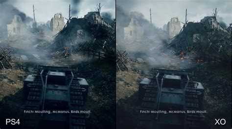 battlefield 1 in ps4 xbox one and pc benchmark comparison gamingph