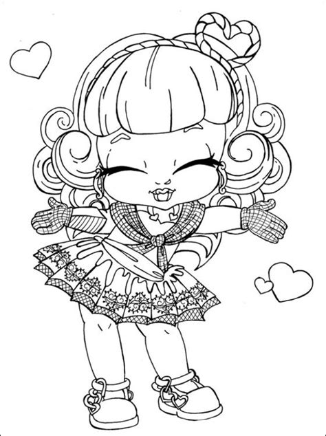Ever After High Baby Coloring Pages | c a cupid monster high a imprimer coloriage 224 imprimer