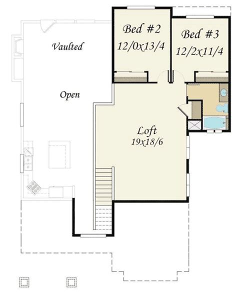 main floor master bedroom house plans craftsman house plan with main floor master 85110ms