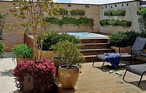 quintal piscina decorada spa para chamar de seu casa e jardim galeria de fotos