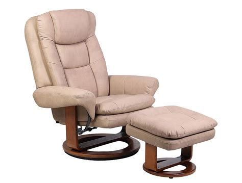euro chair with ottoman mac motion euro recliner and ottoman in stone nubuck