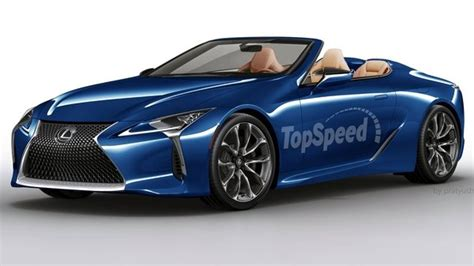 lexus rc convertible 2018 lexus lc convertible review top speed