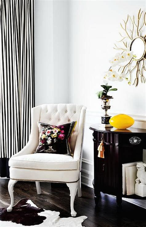 black and white striped home decor black and white striped curtains transitional living