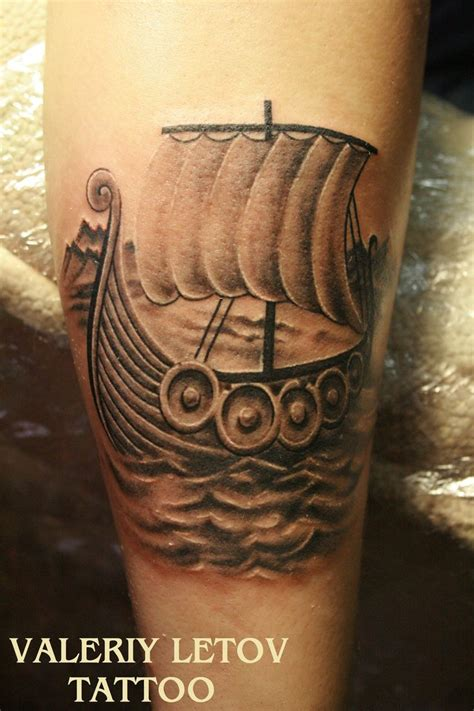 viking longship tattoo design 58 best images about tattoos viking on