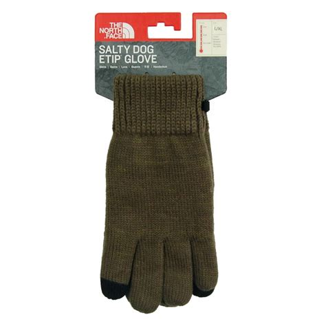 the salty etip gloves new taupe green burnt