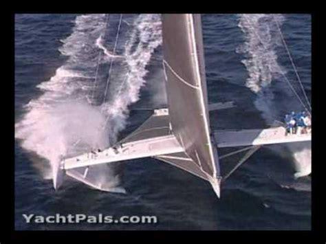 trimaran capsize movie sailing trimaran phim video clip