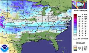 michigan is in the bullseye for snow cover in the united