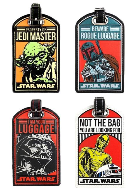 Star Wars Printable Luggage Tags | 12 best gift ideas for the savviest travel addicts in your