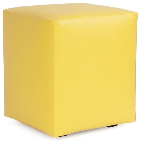 ottomans and cubes atlantis sunflower universal cube ottoman contemporary