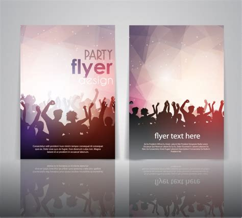 design party flyer online free party flyer design vector free download