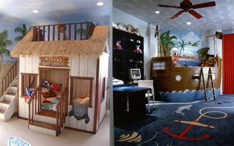 cool bedroom ideas for teenagers 27 cool kids bedroom theme ideas digsdigs