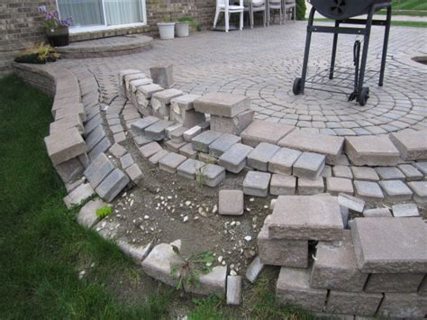 How To Make A Paver Patio Brick Pavers Canton Plymouth Northville Arbor Patio Patios Repair Sealing