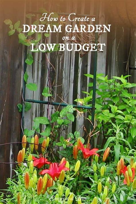 the budget wise gardener with hundreds of money saving buying design tips for planting the best for less books 560 best images about creative gardening on