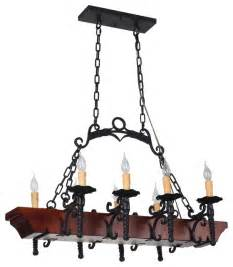 rustic kitchen chandeliers tudor 8 light wrought iron chandelier with faux candles