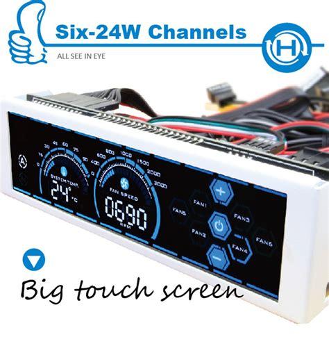 best computer fan controller alseye a 100l 6 channel cpu fan speed controller for
