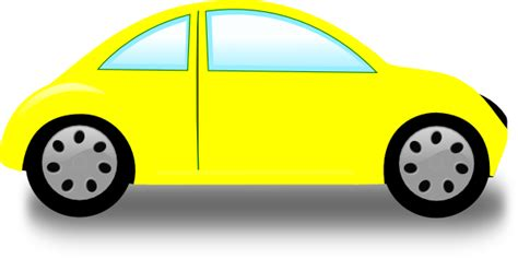 Free Clipart Car yellow car clip at clker vector clip royalty free domain