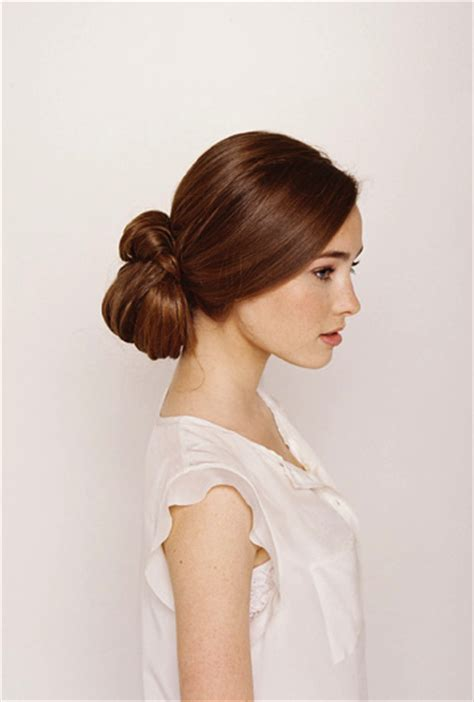 hairstyles for long knotty hair knotted chignon wedding hair tutorial once wed