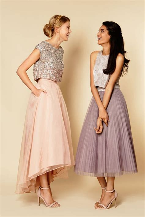Bridesmaids Dresses Separates Alfred Angelo - bridesmaid fashion trend separates arabia weddings